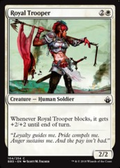 Royal Trooper - Foil