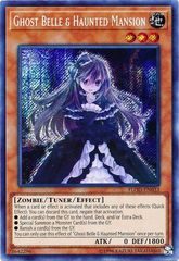 Ghost Belle & Haunted Mansion - FLOD-EN033 - Secret Rare - Unlimited Edition