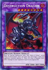Destruction Dragon - LCKC-EN108 - Secret Rare - Unlimited Edition