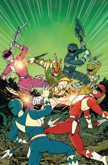 Mighty Morphin Power Rangers: Shattered Grid #1 (10 Copy Burnham Incentive Variant)