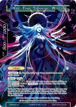 The Time Spinning Witch // The Time Spinning Witch // Unbound Princess of Time, Kaguya (Full Art) - WOM-057 - R
