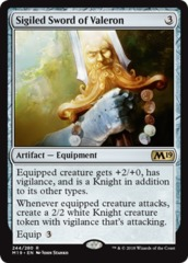 Sigiled Sword of Valeron - Foil