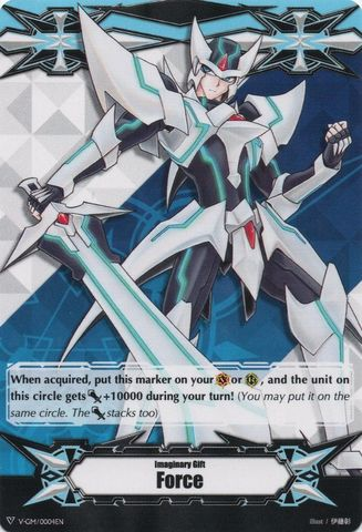 Imaginary Gift [Force] (Blaster Blade Art) - V-GM/0004EN - V-TD01 Promo