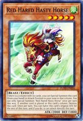 Red Hared Hasty Horse - FLOD-EN034 - Common - Unlimited Edition