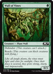 Wall of Vines on Channel Fireball