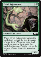Elvish Rejuvenator - Foil