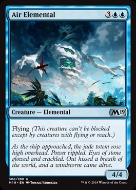 Air Elemental - Planeswalker Deck Exclusive