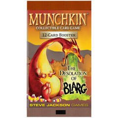Munchkin Collectible Card Game - The Desolation of Blarg Booster Pack