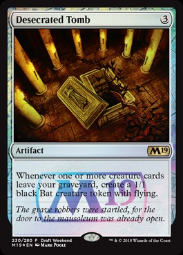 Desecrated Tomb (Draft Weekend Promo)