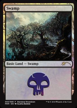 Swamp (003/005) - FOIL Promo 2018 Standard Showdown Alayna Danner