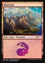 Mountain - Foil - 2018 Standard Showdown
