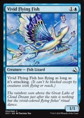 Vivid Flying Fish on Channel Fireball