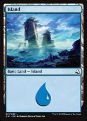 Island (021) on Channel Fireball