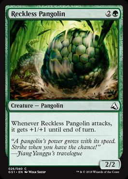 Reckless Pangolin