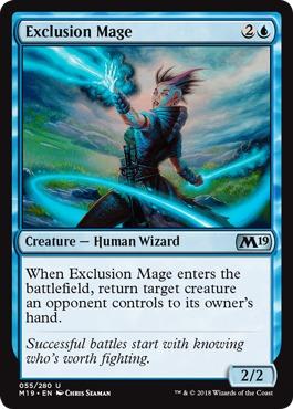 Exclusion Mage - Foil
