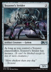 Tezzeret's Strider - Planeswalker Deck Exclusive