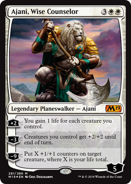 Ajani, Wise Counselor - Foil