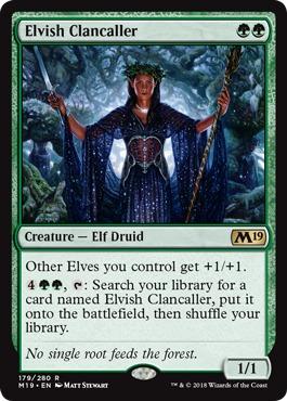 Elvish Clancaller - Foil
