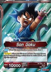 Son Goku // Energy Burst Son Goku (Foil) - BT4-001 - UC