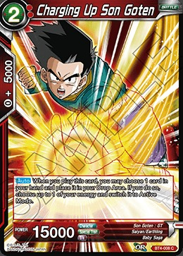 Charging Up Son Goten - BT4-008 - C