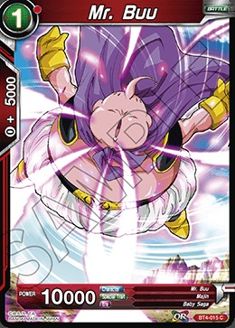 Mr. Buu (Foil) - BT4-015 - C