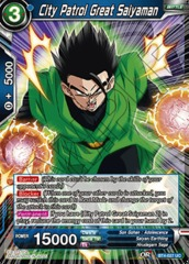 City Patrol Great Saiyaman (Foil) - BT4-027 - UC