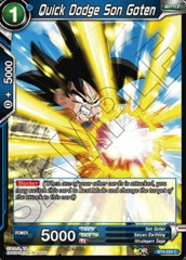 Quick Dodge Son Goten (Foil) - BT4-029 - C