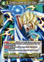 Dynasty Deferred Son Goku - BT4-081 - UC