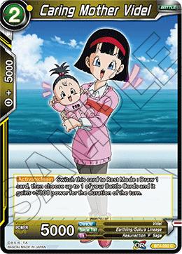 Caring Mother Videl (Foil) - BT4-090 - C