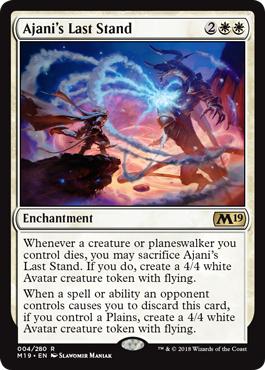 Ajanis Last Stand - Foil
