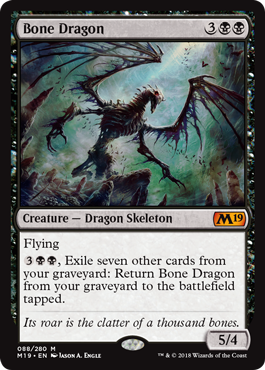 Bone Dragon - Foil