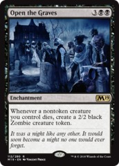 Open the Graves - Foil on Channel Fireball