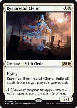 Remorseful Cleric - Foil