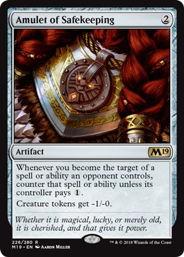 Amulet of Safekeeping - Foil