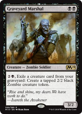 Graveyard Marshal - Foil