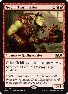 Goblin Trashmaster - Foil
