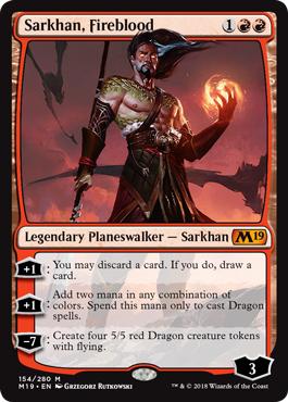 Sarkhan, Fireblood - Foil