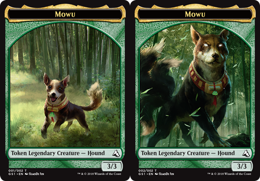 Mowu Token - Foil (Double-Sided)