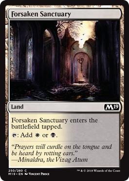 Forsaken Sanctuary - Foil