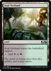 Foul Orchard - Foil