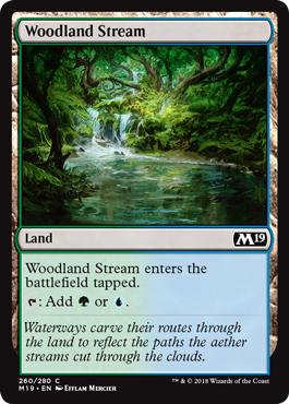 Woodland Stream - Foil