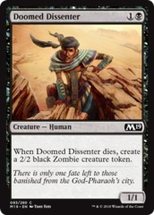 Doomed Dissenter - Foil