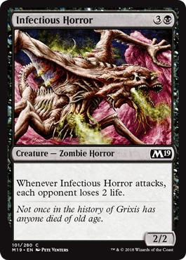 Infectious Horror - Foil