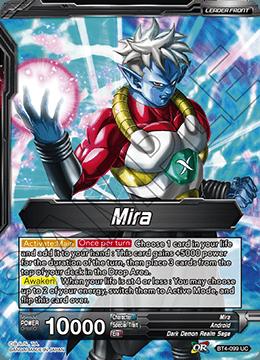 BT4-110 C Dark Absorption Mira Dragonball Super