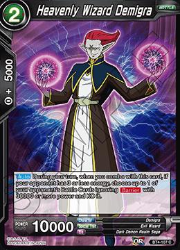 Heavenly Wizard Demigra (Foil) - BT4-107 - C