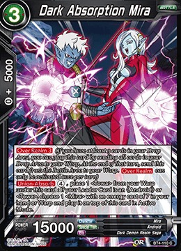 Dark Absorption Mira (Foil) - BT4-110 - C