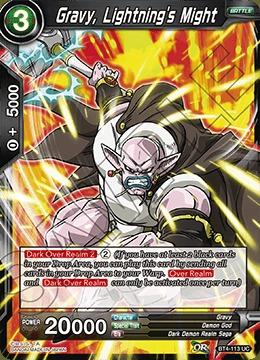 Gravy, Lightning's Might (Foil) - BT4-113 - UC