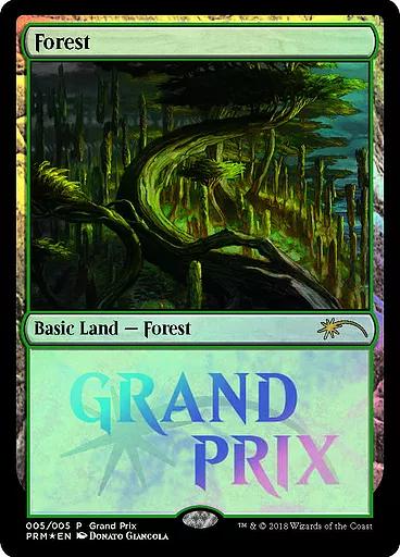 Forest - Foil 2018 Grand Prix Promo