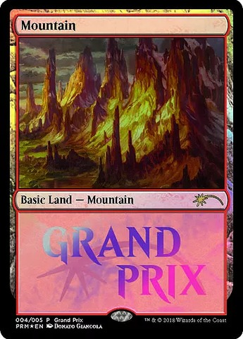 Mountain - Foil 2018 Grand Prix Promo