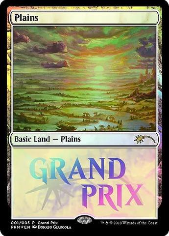 Plains - Foil 2018 Grand Prix Promo